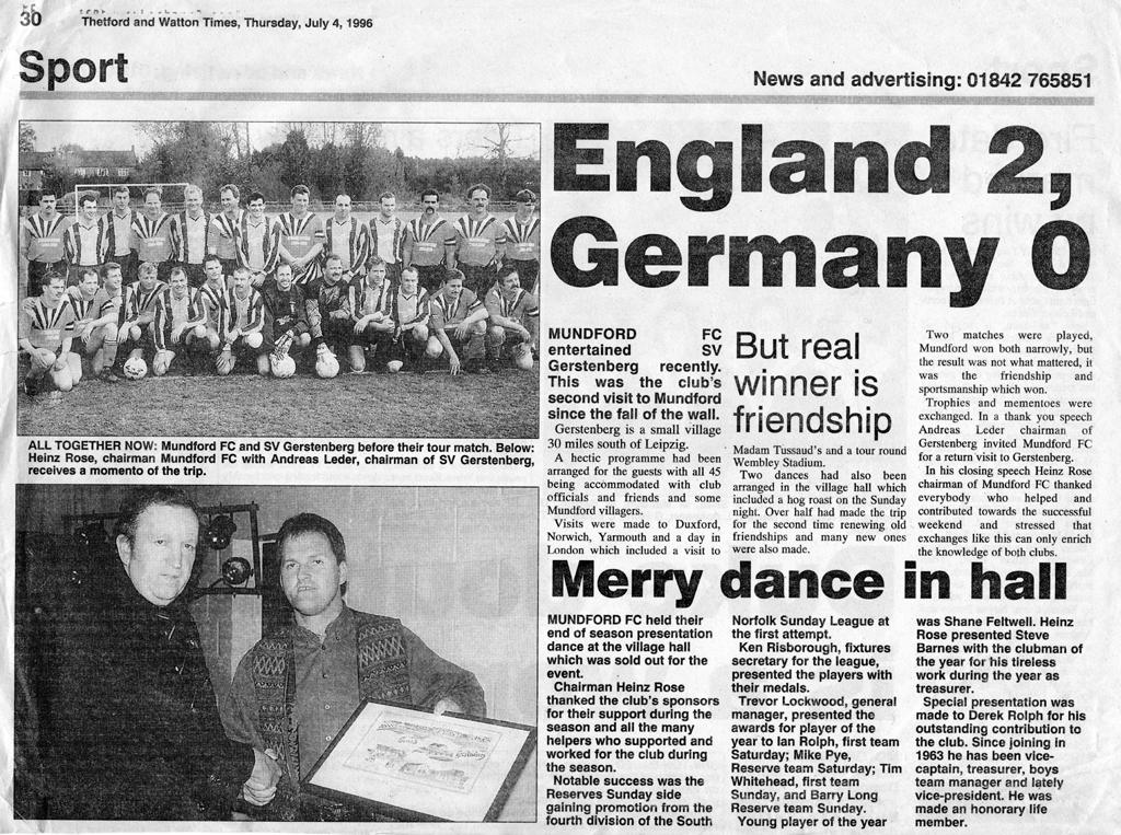 Gerstenberg in Mundford 1996