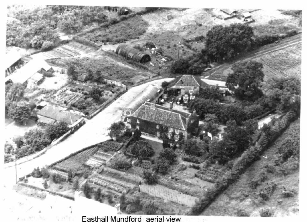 easthall-aerial-view